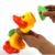 1 Pcs Jogando Água Descoloração Pato Do Bebê Natação Brinquedos para o Banho de Água ABS Engraçado Aprendizagem Presentes Para As Crianças Crianças Brinquedos Clássicos