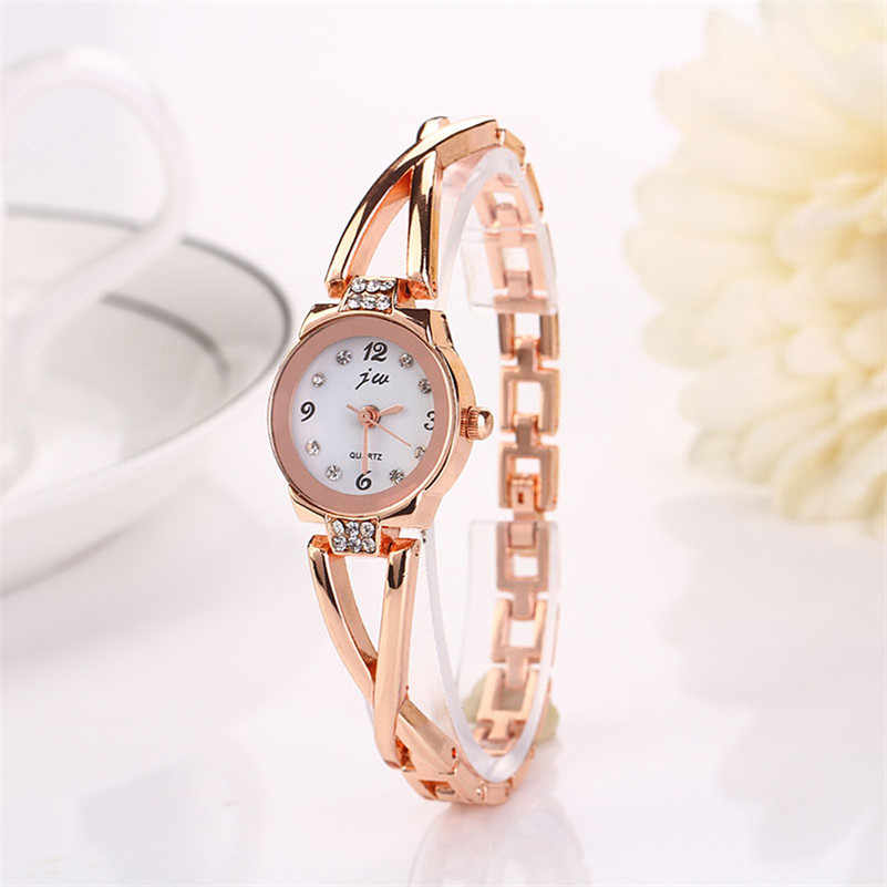 Mode femmes fille Bracelet montre Quartz OL dames alliage montre-Bracelet femmes en gros # 2AP16B * YL