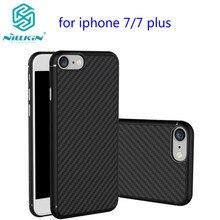 Для apple iphone 7 case 4.7 «nillkin синтетического волокна сотовый телефон case для iphone 7 plus 5.5 дюйма углеродного волокна пластика задняя крышка