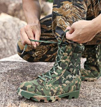 Lacent Tactique Army Noir Green multi Taille Combat Désert Camouflage Bottes Des Hommes Étanches Armée Militaire Chaussures Sécurité 3946 De Cheville uFTKJ13cl