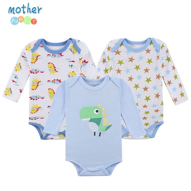 78fa9e8ba Mother Nest 3 Pieces lot 2017 New Fashion Kids Boys Clothes Cartoon ...