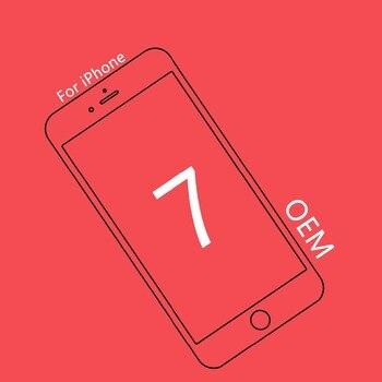 1ชิ้นOEMคุณภาพสำหรับiPhone 7ประกอบจอแอลซีดี4.7นิ้วหน้าจอเปลี่ยนเลนส์PantallaแสดงผลแบบสัมผัสDigitizer