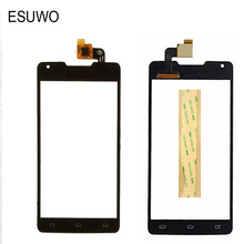 ESUWO 5.0″ Touch Screen Digitizer Glass For Philips Xenium W6610 W6618 Touchscreen Front Glass Touch Panel