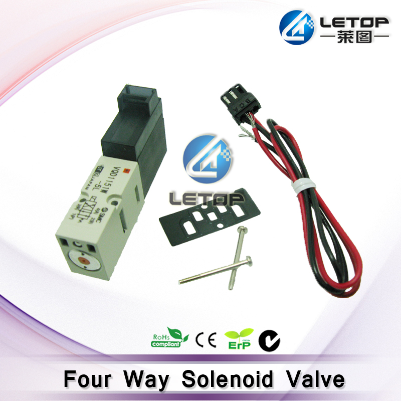 цена на Good price! inkjet printer 4 ways solenoid valves for solvent printer machine