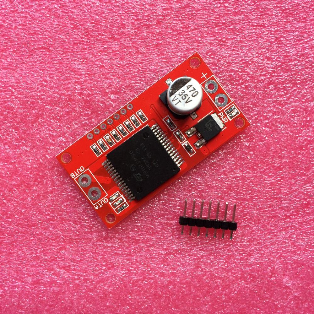 5pcs/lot 30A Mini VNH2SP30 Stepper Motor Driver Monster Moto Shield module For Arduino