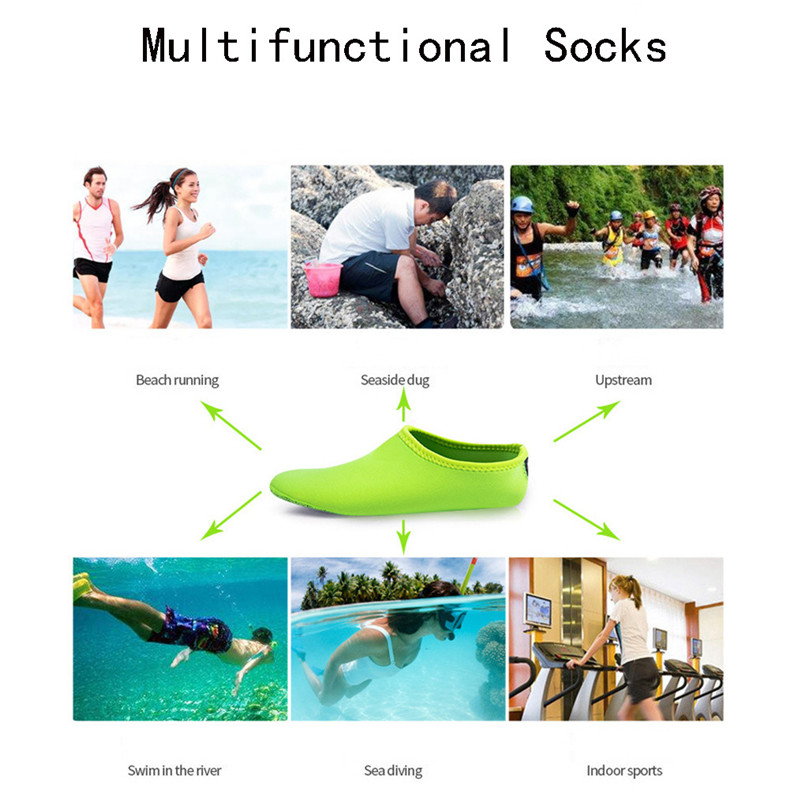 2019 NEW Adult Diving Neoprene Swimming Diving Socks Snorkel Surfing Wetsuit Water Shoes Boots Aqua Shoes #4A24 (1)