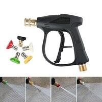 M22 X 1.5 Mm 고압 자동차 세탁기 도구 자동차 압력 전원 와셔에 대 한 5 노즐 와셔 도구 물 도구 청소 도구