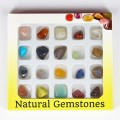 1Box Charming Decorating Natural Gem Stone Mix Agate Quartz Beads New Box Stone Beads for Jewelry