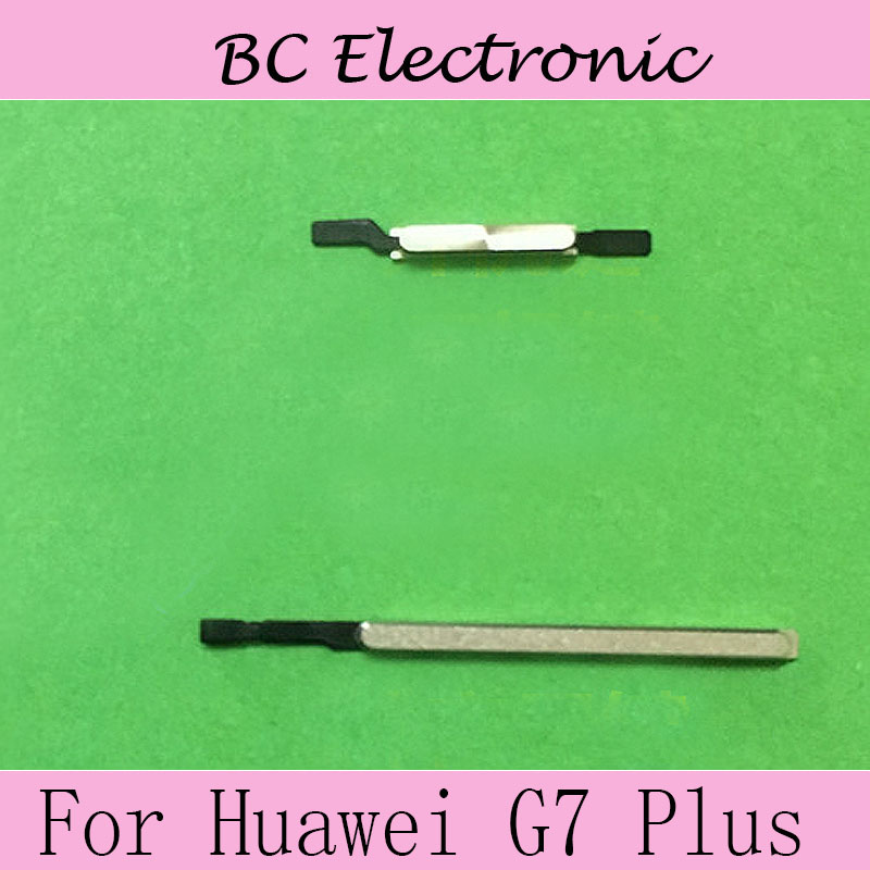 High Quality power on/off button keys and volume up/down For Huawei Ascend G 7 Plus test good