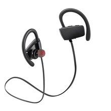 Novo controle Sensível Ao Toque sweatproof Sports Sem Fio Bluetooth Fone de Ouvido à prova d' água super bass music play som estéreo fones de ouvido de natação
