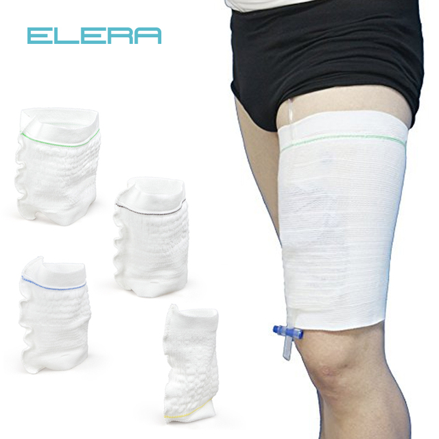 Elera Comfort Sleeve Urine Catheter Bag Leg Holder Urinary Incontinence Supplies