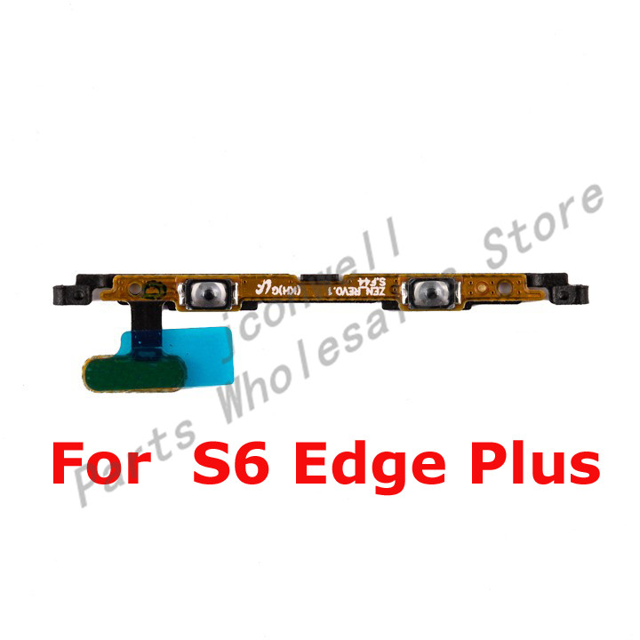 For Sam S6 Edge Plus G928A G928P G928T G928V Mute Volume Switch Volume Up/Down Flex Cable Replacement Part