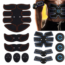 Abdominal Muscle Trainer Stimulator Body Slimming Shaper Machine Muscle Exerciser Training Fitness Massager
