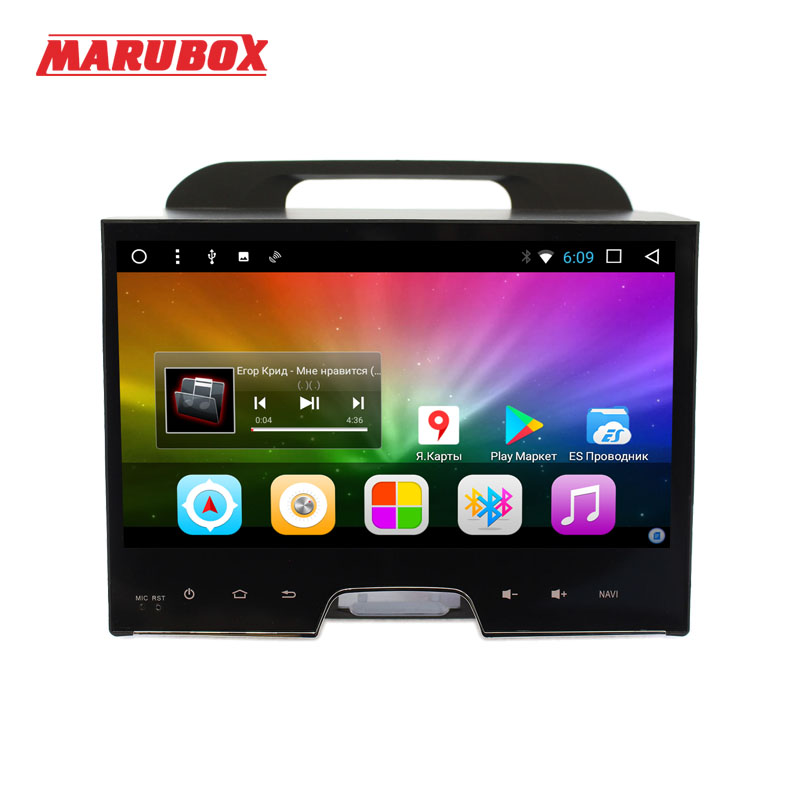 MARUBOX 2Din Android 8 1 For KIA Sportage 2010 2015 10 Inch IPS Eight Core 2G