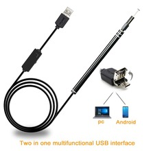2-in-1 USB Ear Cleaning Endoscope HD Visual Ear Spoon Multif