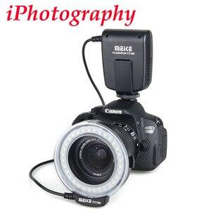 Image 2 - Meike FC 100 FC100 Macro Ring Flash Light per Nikon Canon EOS 650D 600D 60D 7D 550D T4i T3i per Nikon d5300 D7000 D5200 D90 ecc