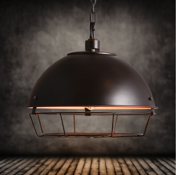 Barn Light with 410mm Canopy Shades and Metal Cage цена 2016