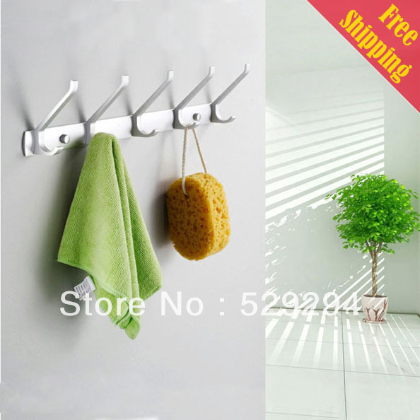 Free Shipping Robe Hooks,clotheshanging hook. wall mounted clothes ...