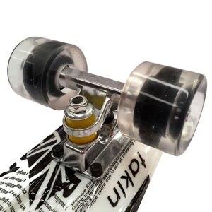 Image 5 - ¡Nuevo! Mini Tabla de Skate Original de 22 pulgadas con nuevo patrón de papel para que los patinadores disfruten de la Mini tabla cohete de skateboarding