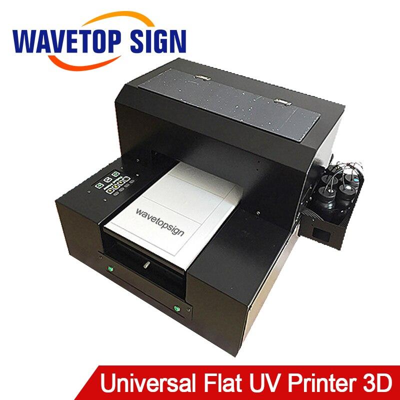 Universel Plat UV Imprimante Petit 3D Motif En Relief Bricolage Mobile Téléphone Shell Photo Imprimante Équipements De Production Feuille Acylic