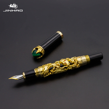 Jinhao Dragon king Characteristic modeling Fountain Pen High luxurious Business office Gifts Ink pen Exquisite Calligraphy pen