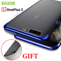 Oneplus 5 Case Cover Silicone Luxury Soft Tpu A5000 Original Mofi One Plus 5 Case Shockproof