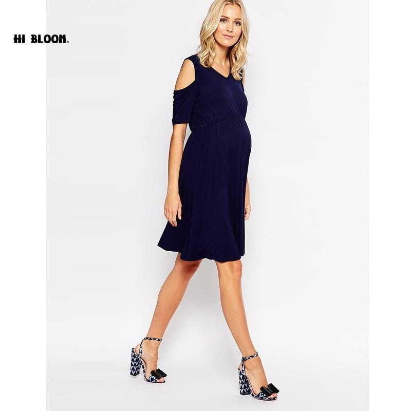 O-Neck Formal Evening Gown For Pregnant Women Maternity Clothes Elegant Off-Shoulder Dress Office Lady Vestidos XXXL