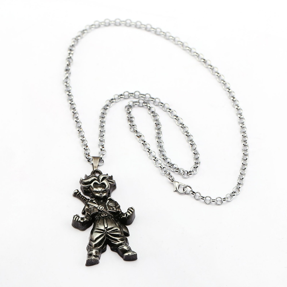 Anime Dragon Ball Necklace Super Saiyan Torankusu Trunks