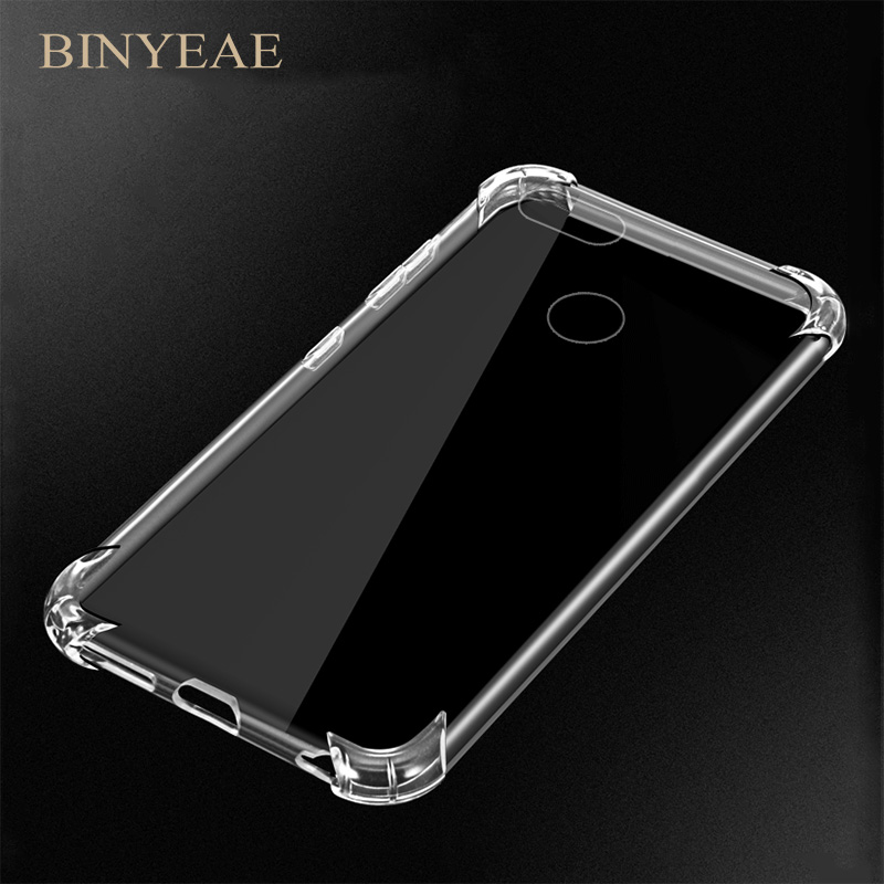 Anti knock shockProof Soft Skin Transparent Silicone Case For huawei Honor 7X 9 P8 P9 P10 <font><b>GR3</b></font> Y3 Y5 Y6 Nova lite mini Pro <font><b>2017</b></font> image