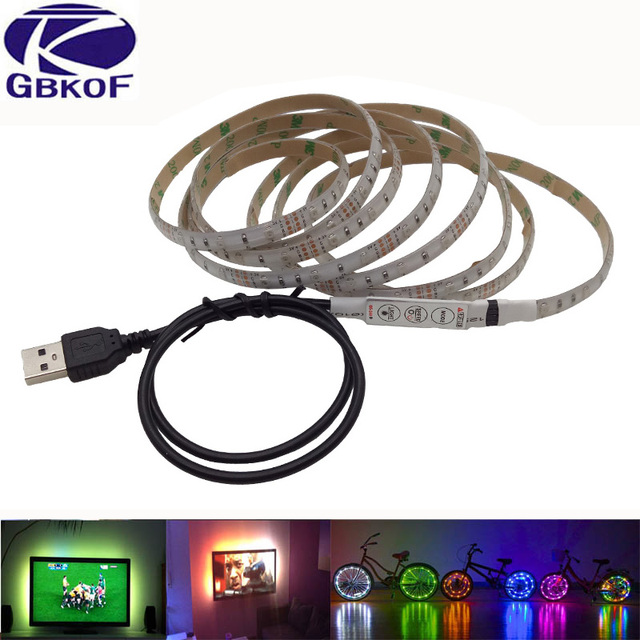 White Warm White RGB Led Strip Lights DC 5V USB Led Flexible Strip 50CM 1M 2M  sc 1 st  AliExpress.com & White Warm White RGB Led Strip Lights DC 5V USB Led Flexible Strip ...
