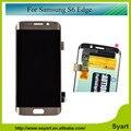 1 ШТ. S6 Край 5.1 дюймов Качество AAA + + + Для Samsung galaxy s6 край жк-дисплей с сенсорным экраном дигитайзер G925F G925S G925p G925A DHL