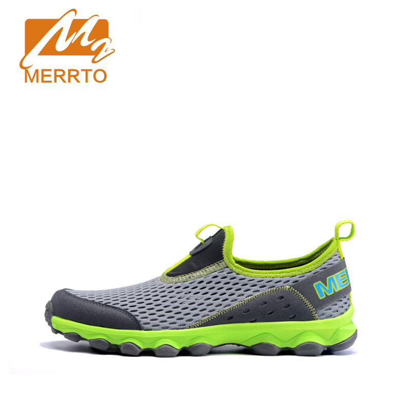 ФОТО MERRTO Running Shoes For Men Wave Creation Breathe Freely Sneakers Sports Comfortable Athletic Speed Summer#MT18602