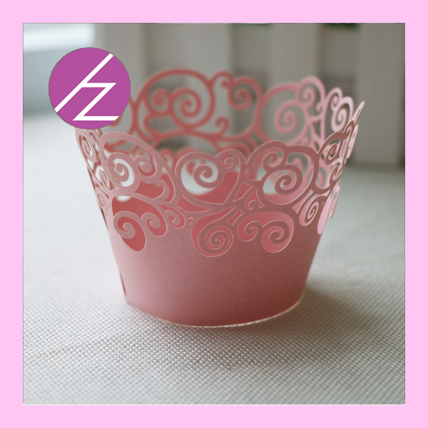 50pc Laser Cut Cupcake Wrappers Liners for Halloween ...