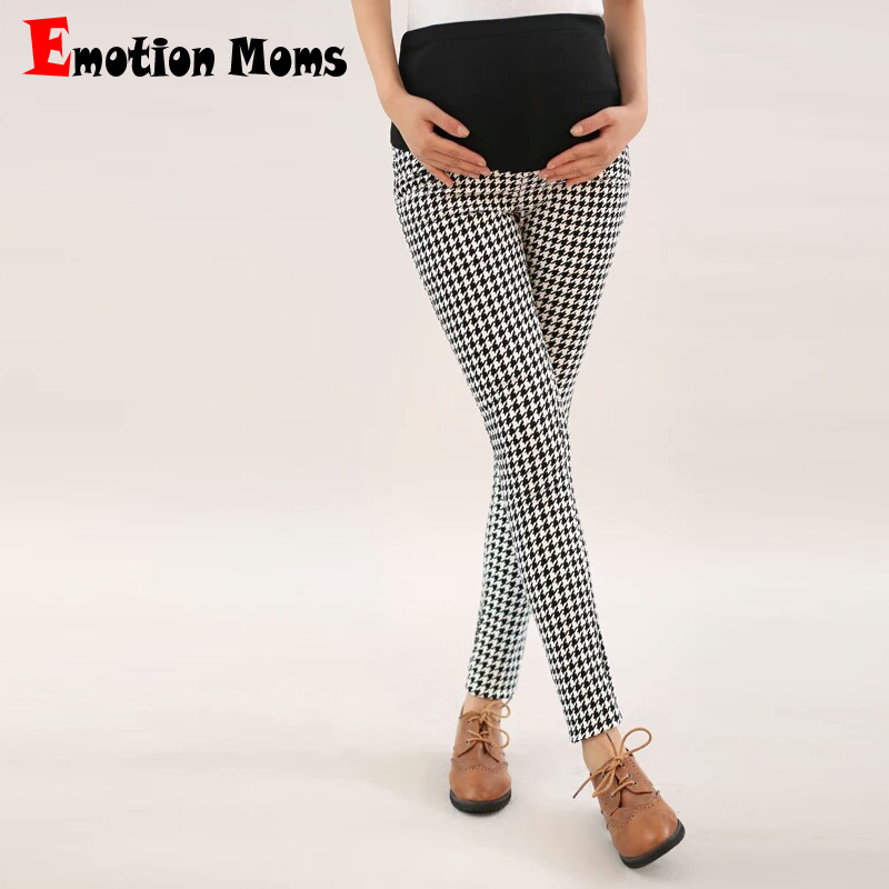 Emotion Moms Maternity legging spring and autumn thin trousers maternity pants maternity clothing belly pants trousers