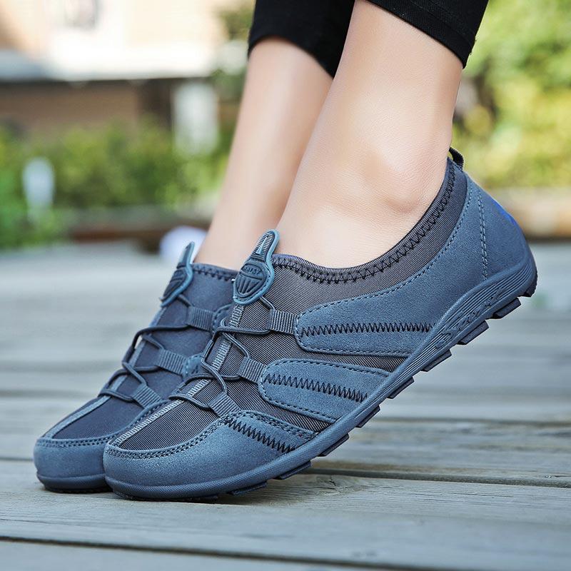 Summer Slip-on Women's Running Shoes 2019 Women's Sneakers Women Sport Shoes Sports Blue Zapatillas Deporte Mujer Footwear C-249