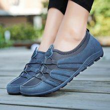 Yaz Slip on kadın koşu ayakkabıları 2019 kadın ayakkabı kadın spor ayakkabılar spor mavi Zapatillas Deporte Mujer ayakkabı C 249