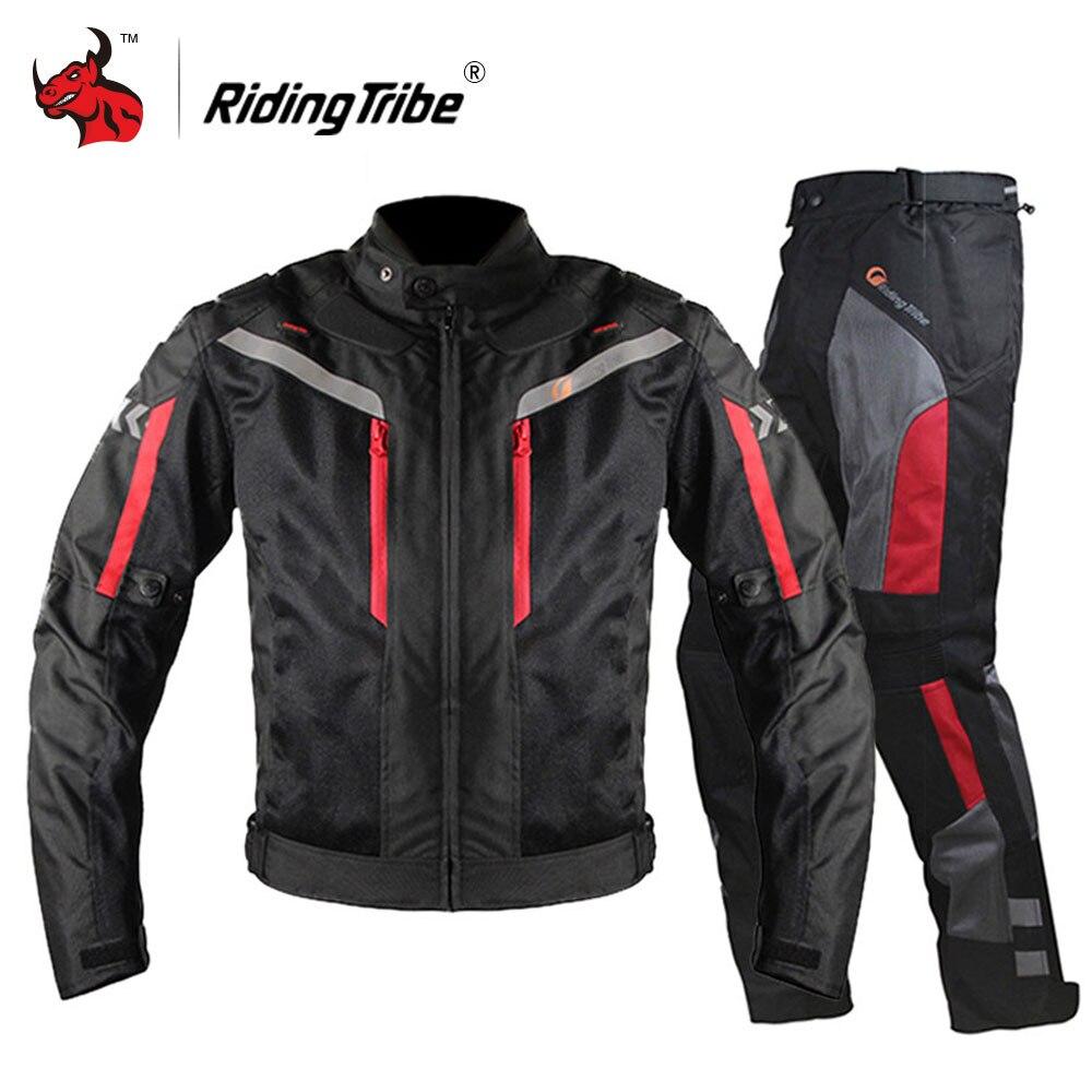 Équitation tribu Moto veste équipement de protection hommes Moto Motocross veste coupe-vent Moto Cruiser Touring vêtements imperméable