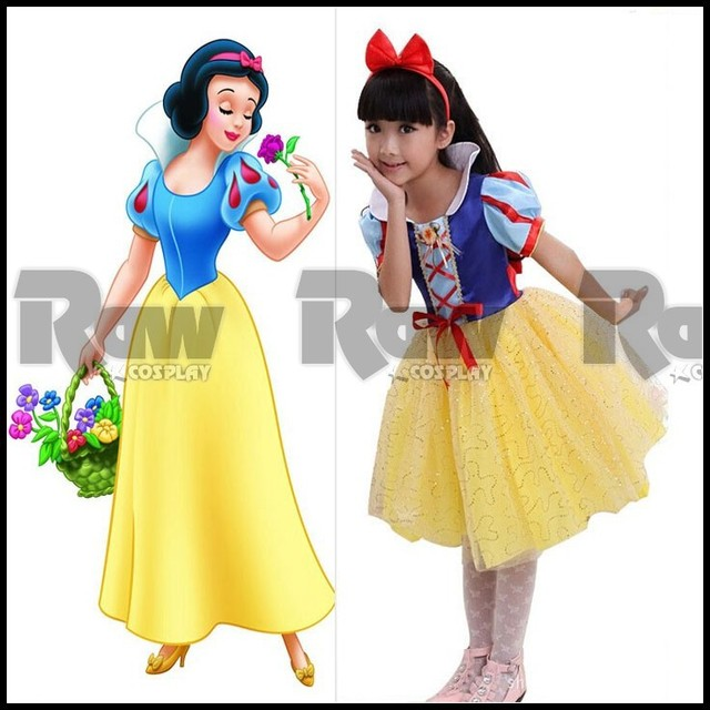 Snow White Costume Children Kids Princess Fantasy Dress Girl Festival Stage Performance Costumes For Women Custom  sc 1 st  AliExpress.com & Snow White Costume Children Kids Princess Fantasy Dress Girl ...
