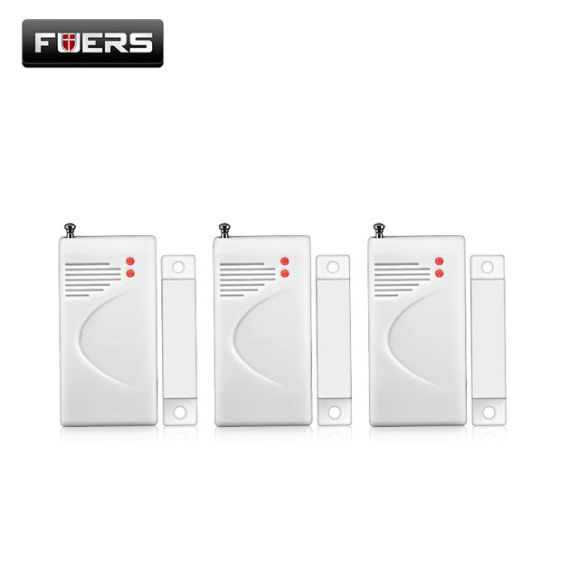 FUERS 3pcs 5pcs 10pcs 433mhz Wireless Opening Sensor Home Alarm Security Window Door Sensor Gap Detector For DP500 10A Alarm Etc