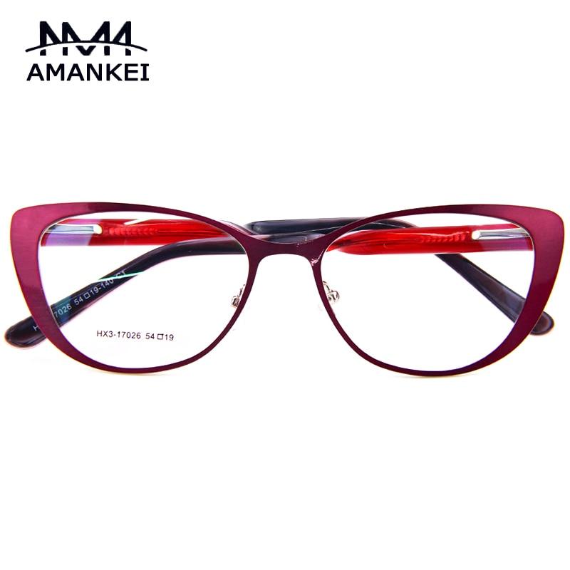 Cat Eye Optical Glasses Frame 2017 New Stylish Multi Color ...