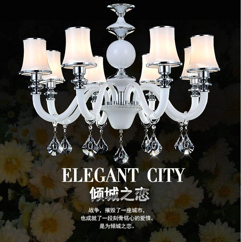 2015 New hot design restaurant dining room hanging crystal chandelier white color,modern crystal chandelier for living room