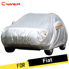 Cawanerl Car Cover Auto Rain Sun Snow Protector Anti UV Cover For Fiat Sedici Bravo Doblo Freemont Multipla Tempra Coupe Croma