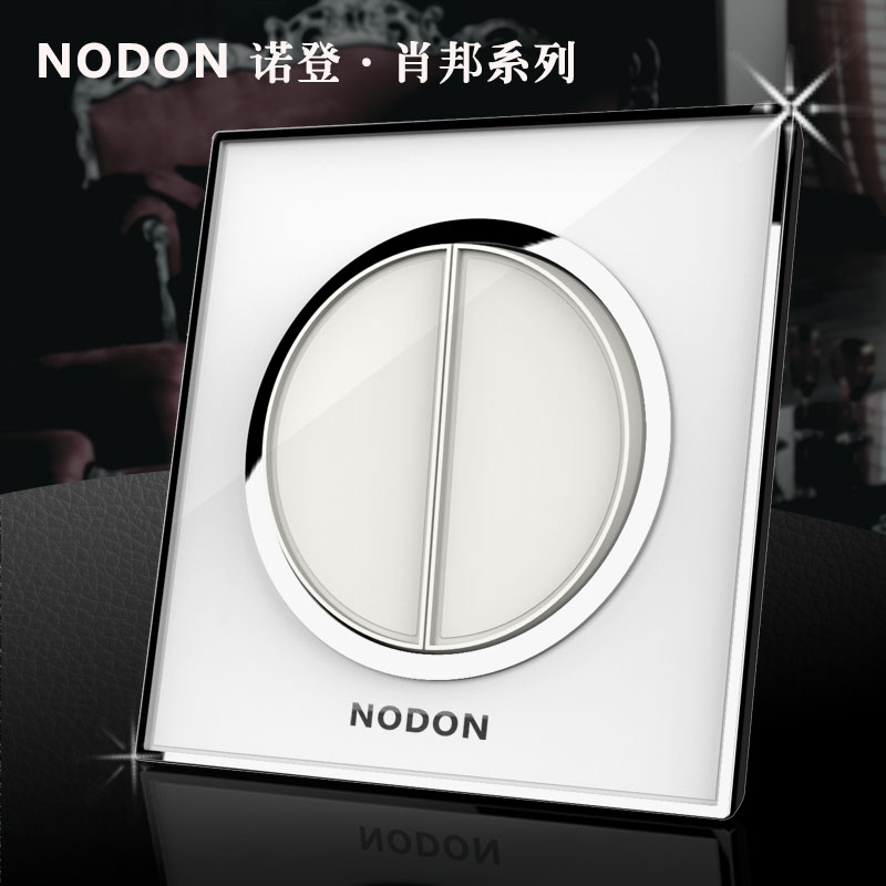 2 gangs 2 way Noden acrylic glass electrical wall light switch, Top waterproof key push button switch, Wholesaler Free shipping 50pcs lot 6x6x7mm 4pin g92 tactile tact push button micro switch direct self reset dip top copper free shipping russia