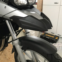 Motorcycle modification Accessories Front Back ABS Fender Extension with Screws for BMW F800GS F800 GS 2008 2009 10 12 F650GS