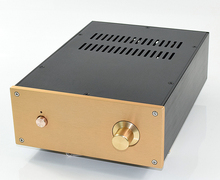 WA125 Aluminum enclosure Preamp chassis Power amplifier case/box size 308*222*91mm