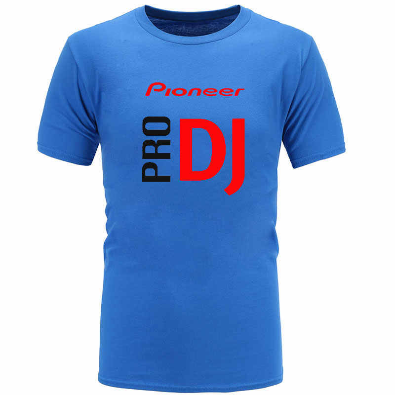 Baiجو 2018 DJ نمط بايونير س الرقبة تي شيرت الرجال الصيف موضة جديدة التي شيرت ل بايونير DJ برو تي شيرت الرجال تيز