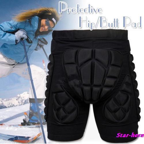 SizeXS-3XL Schutz Getriebe Hip Gepolsterte Shorts Skifahren Skating Snowboard Schutz