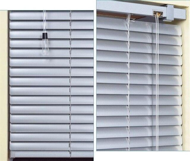 Cheap Aluminum Shutter Blinds Kitchen Bathroom Bedroom Balcony Blackout  Curtains Shade Anti