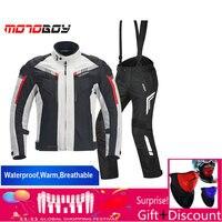 Motoboy MB J07 Светоотражающие байкерская куртка защитный Шестерни камуфляжная форма спортивные брюки Водонепроницаемый дышащий жакет chaqueta