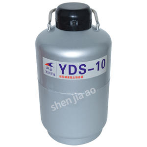 High Quality 10L Liquid Nitrogen Container Cryogenic Tank Dewar Liquid Nitrogen Container Liquid Nitrogen Tank YDS-10/YDS-10B